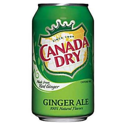 CANADA DRY 薑汁汽水 (355mlx12瓶)