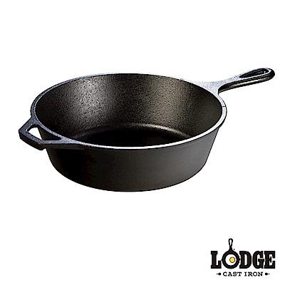 Lodge 鑄鐵深煎平底鍋 10 . 25 吋/ 26 公分