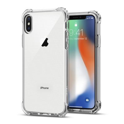 Spigen iPhone X Rugged Crystal彈性防震保護殼
