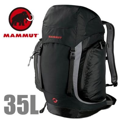 【MAMMUT 長毛象】Creon Classic 35L 透氣舒適健行背包.自助旅行/黑