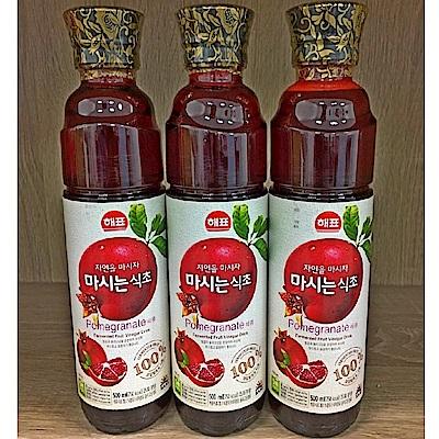 SAJO 水果醋飲-石榴醋(500ml)