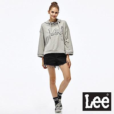 Lee 素面牛仔短褲-女款-黑
