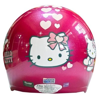 Hello Kitty凱蒂貓 兒童半罩安全帽(中童)