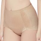 思薇爾 舒曼曲現系列M-XXL高腰三角修飾褲(親膚色)