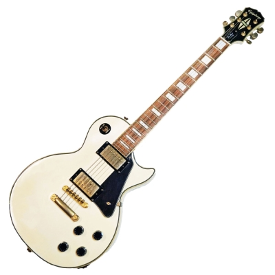 Epiphone LP CUSTOM WH 電吉他 白色