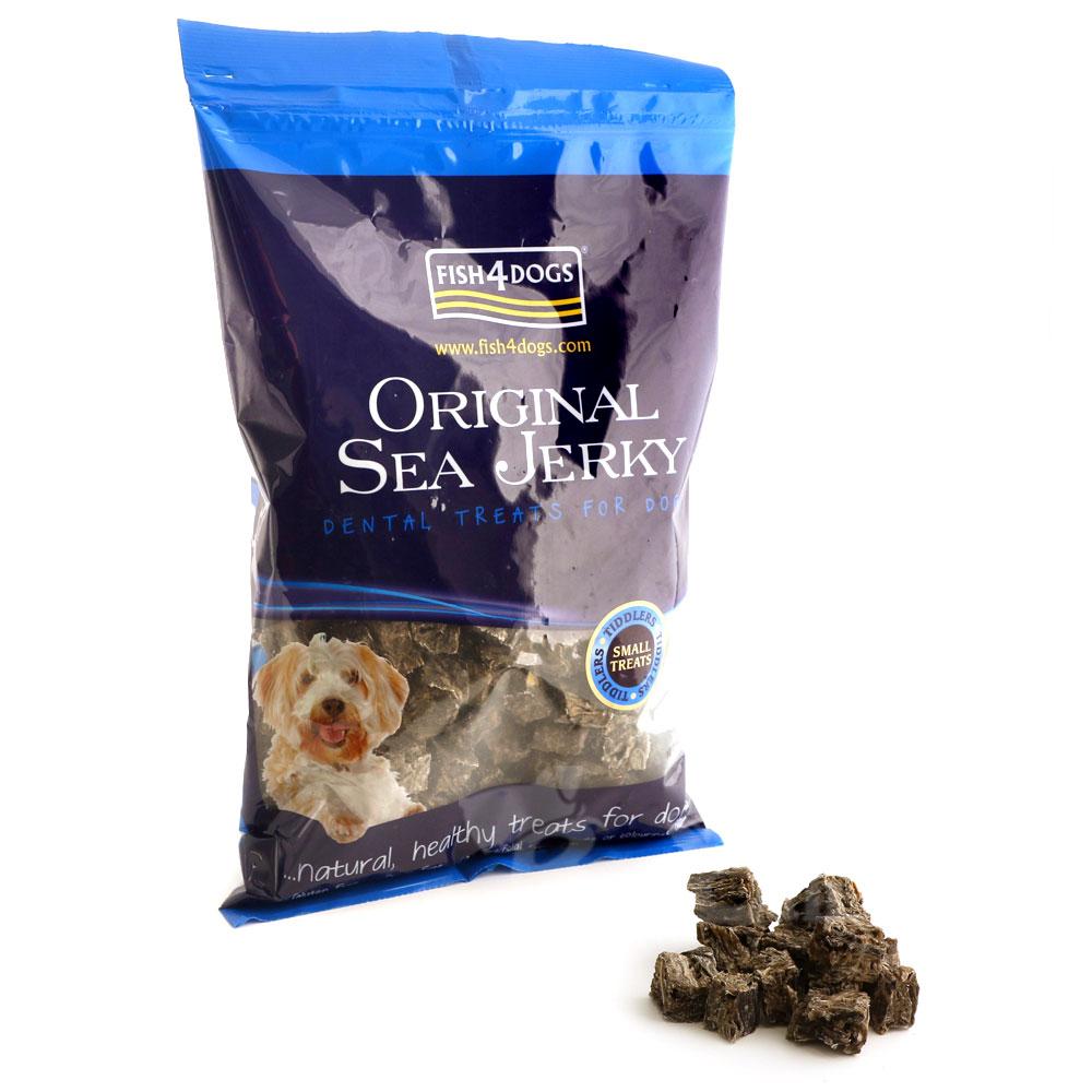 海洋之星Fish4Dogs 營養潔齒點心 魚皮小丁13mm 500g 適合小型犬隻食用