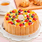 樂活e棧 生日快樂造型蛋糕-繽紛嘉年華蛋糕(8吋/顆,共1顆)