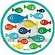 JAKO-O德國野酷 海底世界魚兒壁貼杯掛架 product thumbnail 1