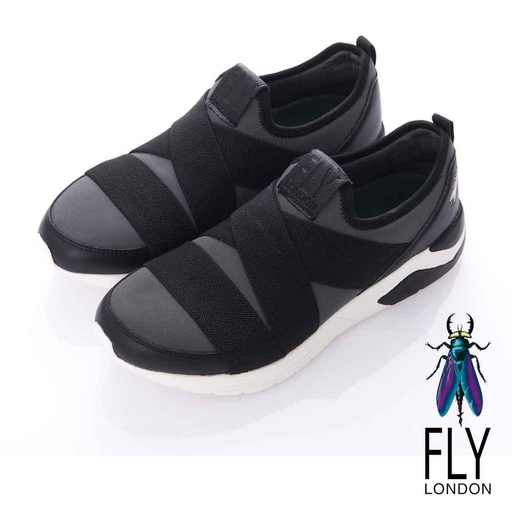 Fly London(男)-BAND潮意志 都會輕量直套運動鞋-突破灰