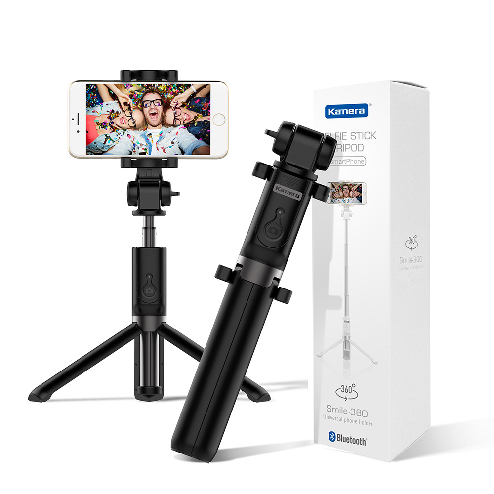 Kamera 藍牙遙控三腳架自拍棒 Smile 360