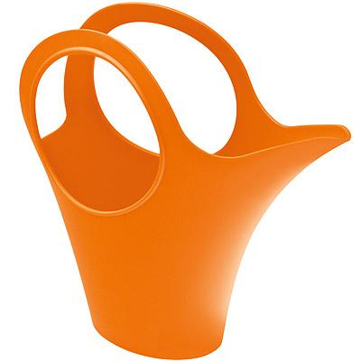 KOZIOL Cami提籃式筆筒花器(橘XS)