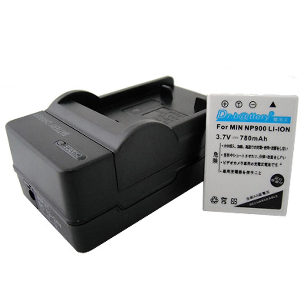 電池王 For OLYMPUS Li-80B 高容量鋰電池+充電器組