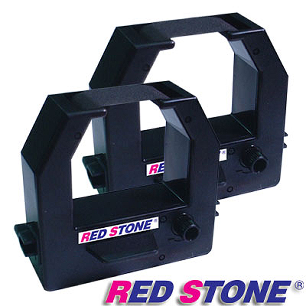 RED STONE for AMANO BX2000電子式打卡鐘色帶組(1組2入)黑色