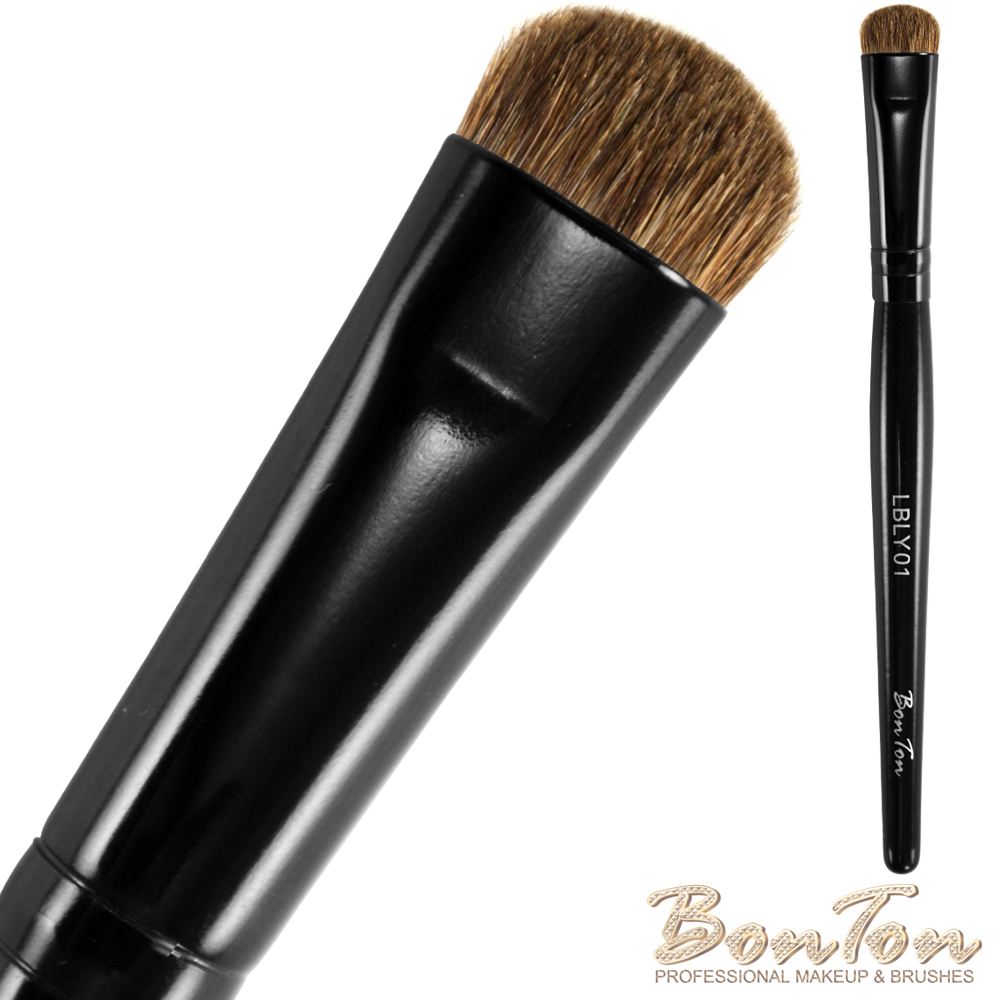 BonTon 墨黑系列 煙燻刷(L) LBLY01 馬毛混香狸毛