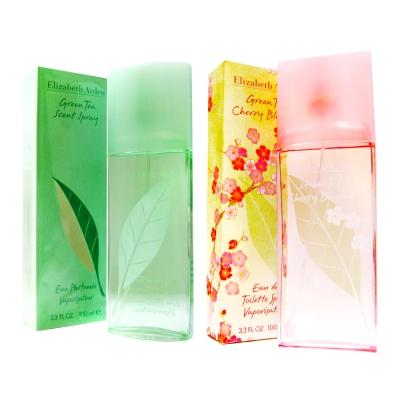 Arden 雅頓 綠茶+櫻花綠茶 淡香水 100ml組