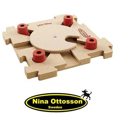 瑞典Nina Ottosson 狗狗益智玩具 狗狗混很大拼拼樂(高階 木製)