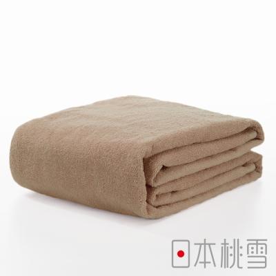 日本桃雪飯店超大浴巾(淺咖啡色)