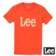 Lee 短袖T恤 卡其LOGO印刷排汗質材