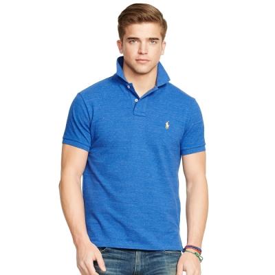 Ralph Lauren 短袖 POLO 素面 藍色 330