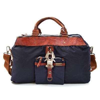 GG&L-Bakerboys兩用旅行袋-深夜藍
