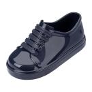 MINI MELISSA漆皮運動風小童鞋-藏藍