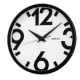 SEIKO 日本精工 設計風 滑動式秒針 靜音掛鐘 時鐘(QXA476A)白/31cm product thumbnail 1