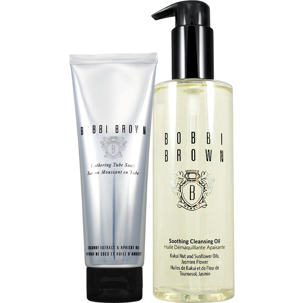BOBBI BROWN 芭比波朗 潔膚洗顏乳(125ml)+茉莉沁透淨妝油(200ml)