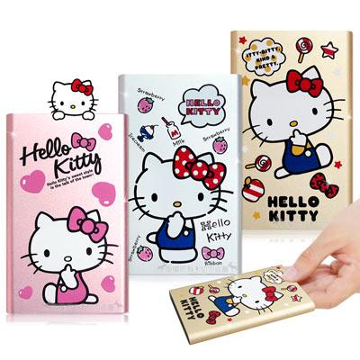 三麗鷗授權 Hello Kitty 5200mAh 元氣系列 超輕薄鋁合金行動電源