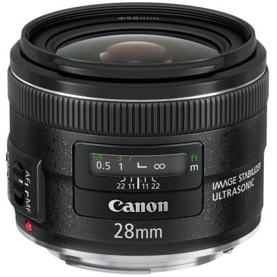 Canon EF 28mm f/2.8 IS USM 廣角定焦鏡頭(公司貨)