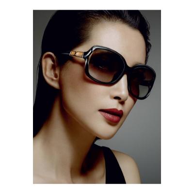 GUCCI-李冰冰代言-竹節太陽眼鏡(方框/黑色)