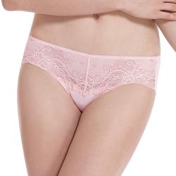 LADY 涼感纖體美型系列 機能調整型 中腰三角褲(漾采粉)