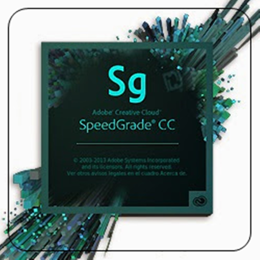 Adobe SpeedGrade CC 企業雲端授權版(一年授權)
