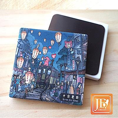 JB Design_就是愛台灣杯墊方磁鐵-718_歡慶十分