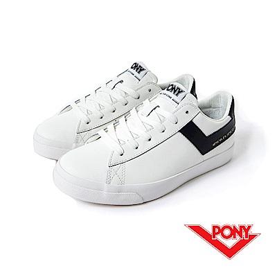 【PONY】TOP STAR 系列-經典復古鞋-女性-黑