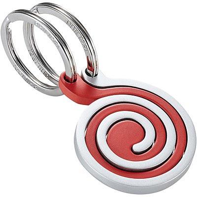 PHILIPPI Snail蝸牛鑰匙圈(霧紅)