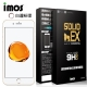 iMOS Apple iPhone 7 (白邊)3D曲面滿版玻璃螢幕保護貼+金屬環(金) product thumbnail 2