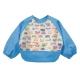 【兩件入】寶寶吃飯畫畫防水圍兜雙層防水反穿衣(共九款)