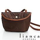 lianca 純手工製LIMONTA相機包(小) 咖