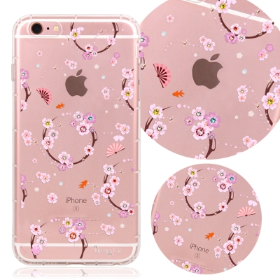 KnowStar APPLE iPhone6/6s奧地利水晶彩繪防摔氣墊手機鑽殼...