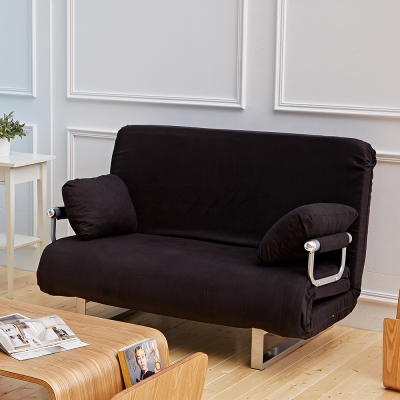 Bed Maker-扣比日系多功能沙發床椅/台灣製/可拆洗(六色)