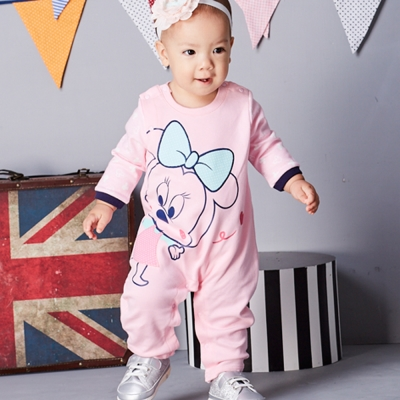 Disney Baby 米妮系列柔彩甜心連身裝 (共2色)