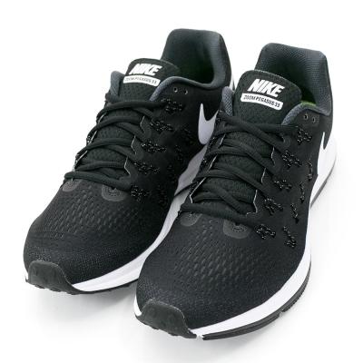 NIKE-PEGASUS-33男慢跑鞋-黑