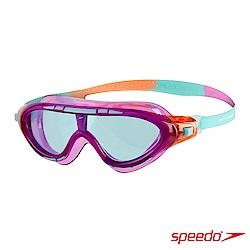 SPEEDO 兒童 運動泳鏡 Biofuse Rift 紫藍