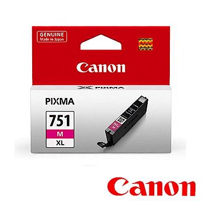 Canon CLI-751XL M 原廠紅色高容量XL墨水匣