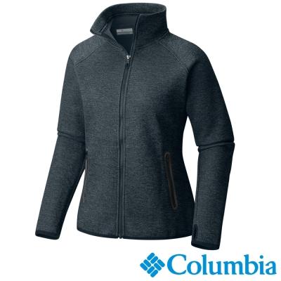 Columbia哥倫比亞  女款-快排保暖高領外套-墨藍色 UAR03420IB