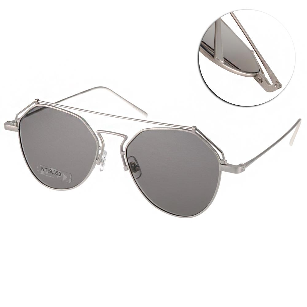 STEALER太陽眼鏡 韓系飛官款/銀#SLBEAM C03