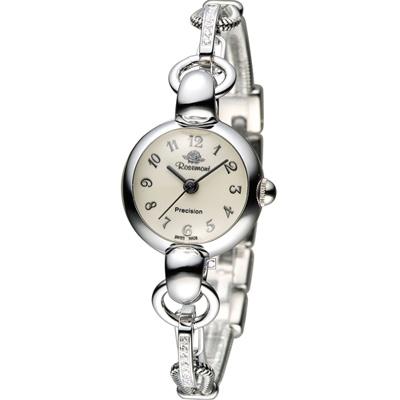 Rosemont 玫瑰錶藤蔓玫瑰系列 I 時尚腕錶-銀色/21mm