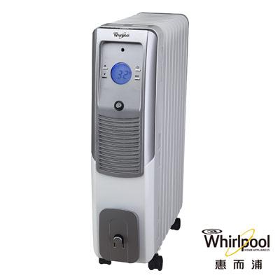 福利品-Whirlpool惠而浦11片電子式葉片電暖器-TET11