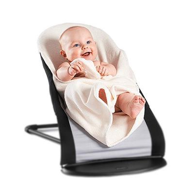BABYBJORN親密褓母彈彈椅-保暖浴巾