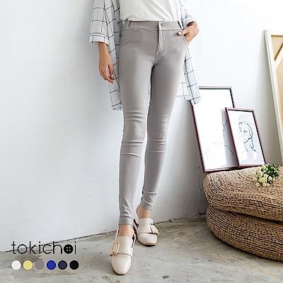 東京著衣 -3kg超彈力多色顯瘦美腿褲-S.M.L(共六色)